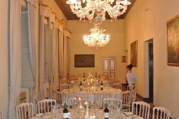 Palazzo Leonetti banqueting a Spoleto