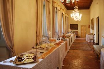 Banqueting Spoleto Palazzo Leonetti