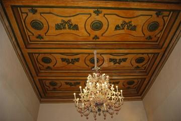 Soffito in legno Palazzo Leonetti Spoleto
